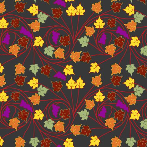 byzantine vineyard fabric by keweenawchris on Spoonflower - custom fabric