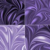 Amethyst Swirl Set