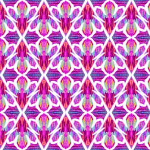 Confetti Flowers Pink-Large