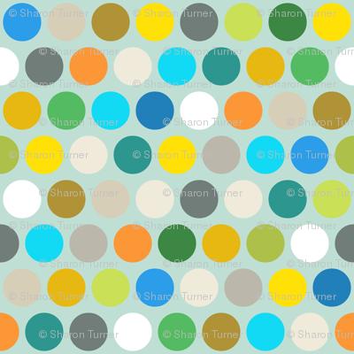 multi air polka dot