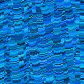 Fern Marble - Blue