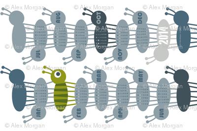 Ant Calendar 2014