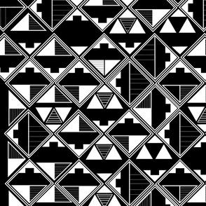 Geometric Tribal Design