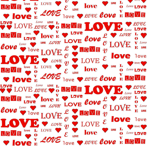 Love fabric by skcreations,_llc on Spoonflower - custom fabric