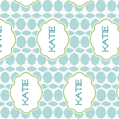 Bali in Vintage Sea Glass Personalized -Katie