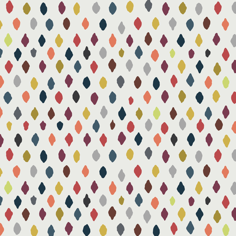 off white seed fabric by scrummy on Spoonflower - custom fabric