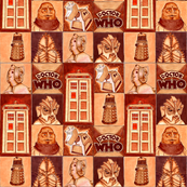 Dr Who Classic in Sepia