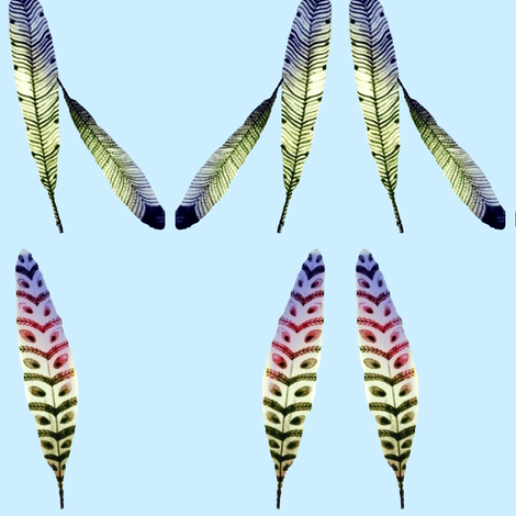 Feathers on Parade