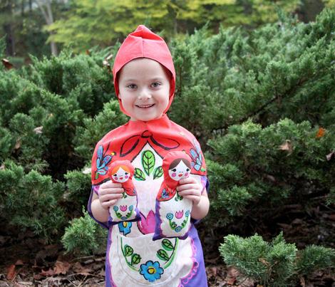Matryoshka Nesting Doll Costume