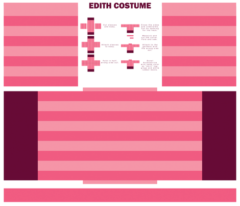 Edith Costume fabric by angel_mio on Spoonflower - custom fabric