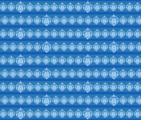 MEDALLIONstripD fabric by iesza-jessica on Spoonflower - custom fabric