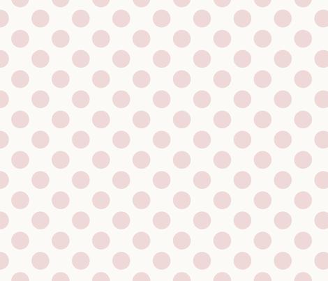 Pink Polka Dot fabric by juliastaite on Spoonflower - custom fabric
