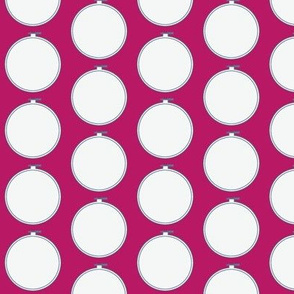 Hoop | Jawbreaker Pink with Hydrangea Blue