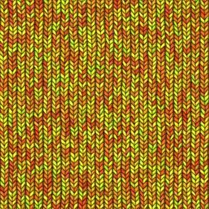 Large Yellow Knit