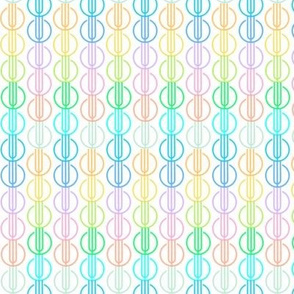 Toki Rainbow Stripe