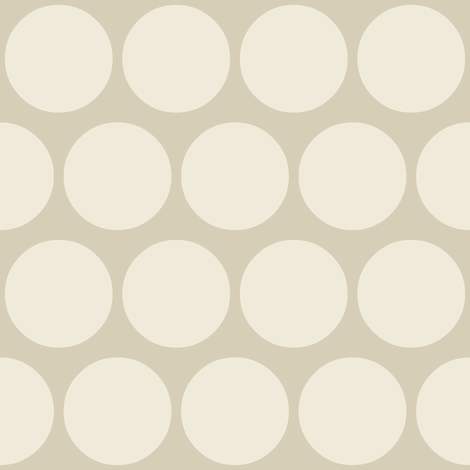 jumbo neutral spot fabric by scrummy on Spoonflower - custom fabric
