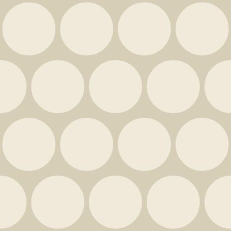 jumbo neutral spot fabric by scrummy on Spoonflower - custom fabric
