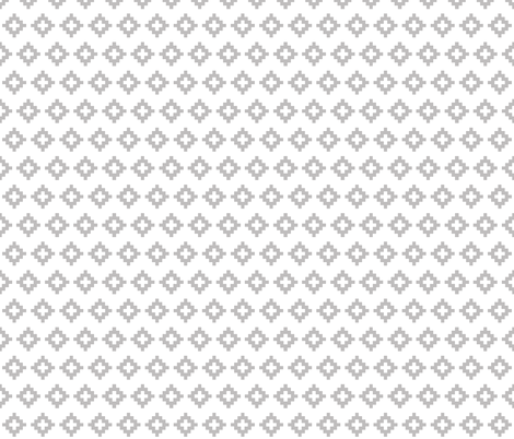 small gray aztec fabric by ivieclothco on Spoonflower - custom fabric