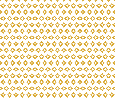 gold aztec fabric by eivie&co on Spoonflower - custom fabric