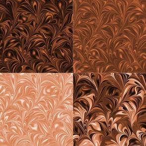 Apricot Swirl Set