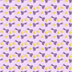 Zooming Flyball dogs mini - lavender