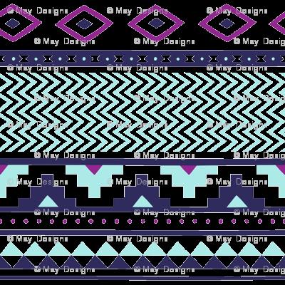 aztec-orchid-fucshia-tile