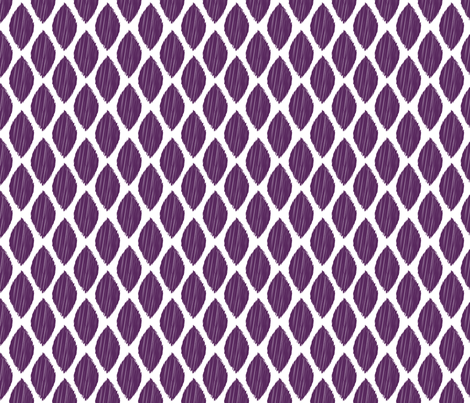 ikat-leaf-fig-tile fabric by maydesigns on Spoonflower - custom fabric
