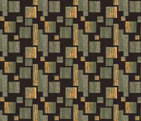 Wildwood Abstract fabric by treehousedesignstudio on Spoonflower - custom fabric