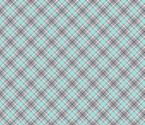 tartan-gray-tile fabric by maydesigns on Spoonflower - custom fabric