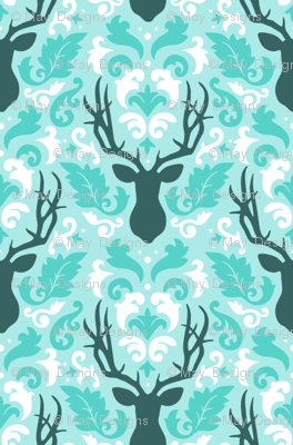 deer-damask-ice-tile
