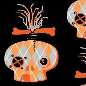 Abby skull Orange