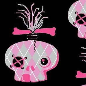 Abby Skull Pink