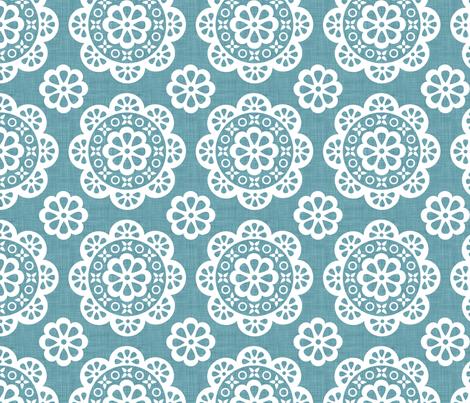 linen lace fabric by jeanna_casper on Spoonflower - custom fabric