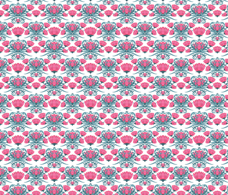 FLOWER_POWER-repeat fabric by iesza-jessica on Spoonflower - custom fabric