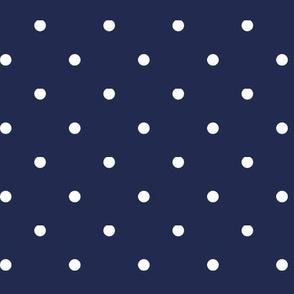 FJ Polka dot scarf print