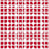 Red City Block Plaid