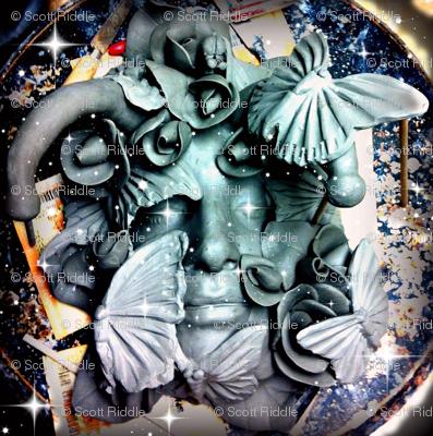 Cosmic fairy nymph.