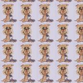 griffon dog caricature