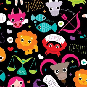 Horoscope zodiac signs for kids