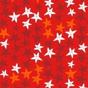 Bibinaut Stars Red