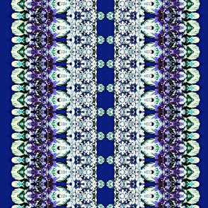 African Violet Stripe