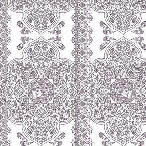 Love Mendhi purple