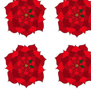 Holiday Flower Red