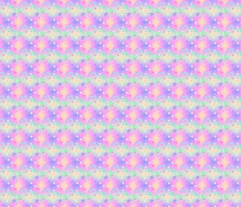 Kawaii Fairy Kei Pastel Galaxy fabric by kathrynrose on Spoonflower - custom fabric