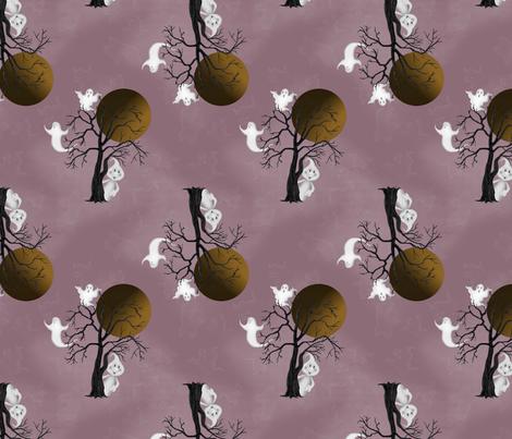 cp_ghostiesandtrees fabric by cindypie on Spoonflower - custom fabric
