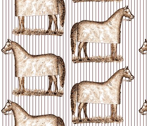 Pinstriped Ponies