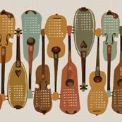 2014 Instrument Calendar  - Vintage