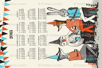2015 Garden Party Calendar