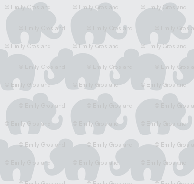 Gray Elephants