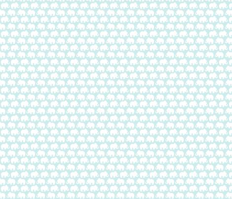 Blue Elephants fabric by plaidgoose_designs on Spoonflower - custom fabric